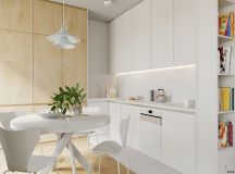 4 Bright & Cheerful Interiors That Use White & Wood To Good Effect images 15