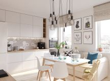 4 Bright & Cheerful Interiors That Use White & Wood To Good Effect images 5