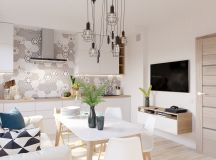 4 Bright & Cheerful Interiors That Use White & Wood To Good Effect images 3