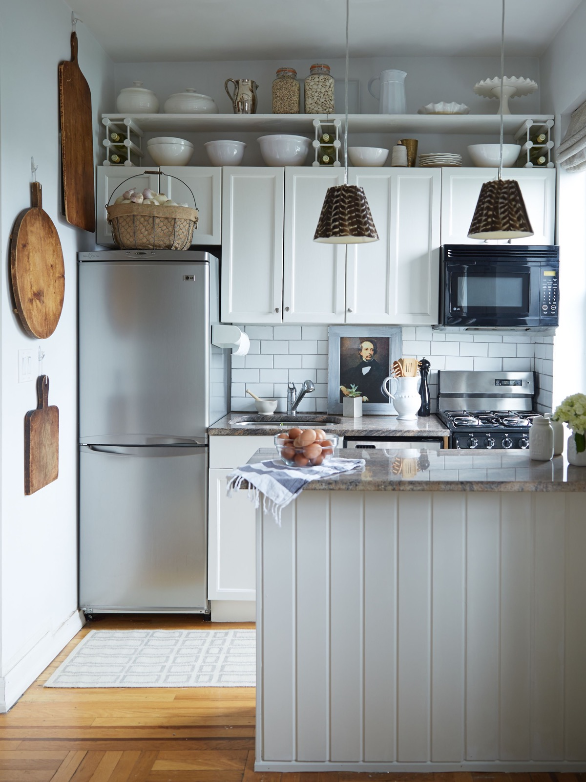 small apartment kitchen ideas clocks amazon 50 splendid kitchens and you can use from them 9