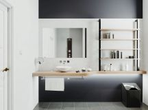 36 Modern Grey & White Bathrooms That Relax Mind Body & Soul images 3