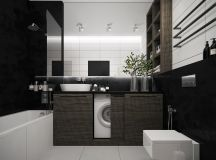 36 Modern Grey & White Bathrooms That Relax Mind Body & Soul images 4