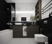 modern grey bathroom designs