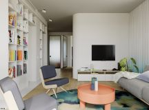 4 Bright & Cheerful Interiors That Use White & Wood To Good Effect images 8