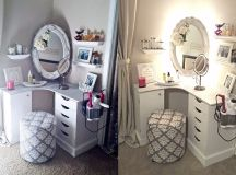 33 Gorgeous Makeup Vanities Plus Tips To Help You Accessorize Yours images 15