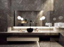 36 Modern Grey & White Bathrooms That Relax Mind Body & Soul images 34