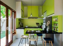33 Gorgeous Green Kitchens And Ways To Accessorize Them images 6