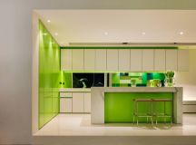 33 Gorgeous Green Kitchens And Ways To Accessorize Them images 4