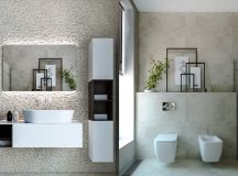 36 Modern Grey & White Bathrooms That Relax Mind Body & Soul images 22