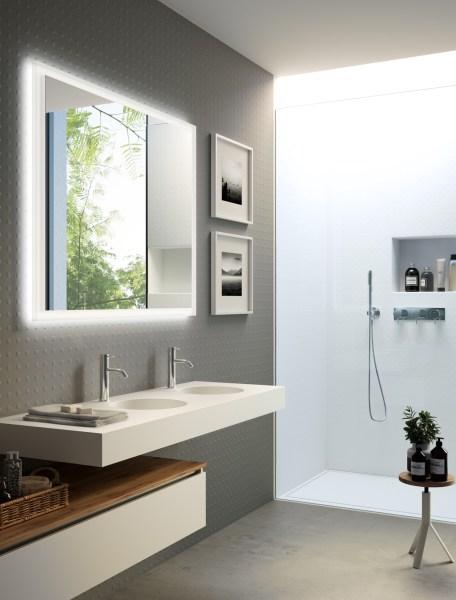 gray bathroom ideas 36 Modern Grey & White Bathrooms That Relax Mind Body & Soul