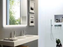 36 Modern Grey & White Bathrooms That Relax Mind Body & Soul images 12