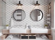 36 Modern Grey & White Bathrooms That Relax Mind Body & Soul images 19