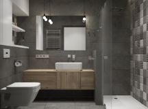 36 Modern Grey & White Bathrooms That Relax Mind Body & Soul images 5