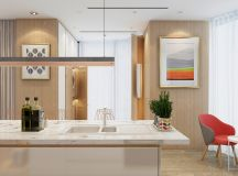 4 Bright & Cheerful Interiors That Use White & Wood To Good Effect images 31