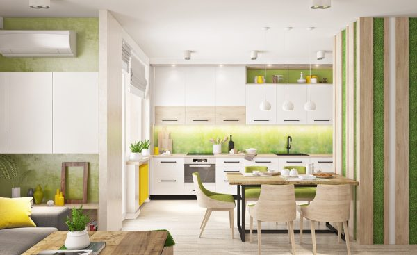 33 gorgeous green kitchens and ways to accessorize them free cad