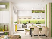 33 Gorgeous Green Kitchens And Ways To Accessorize Them images 0