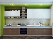 33 Gorgeous Green Kitchens And Ways To Accessorize Them images 1