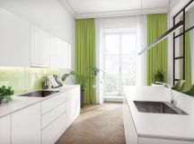 33 Gorgeous Green Kitchens And Ways To Accessorize Them images 29
