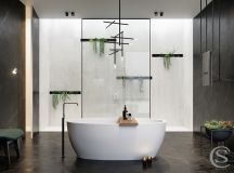 50 Luxury Bathrooms And Tips You Can Copy From Them images 14
