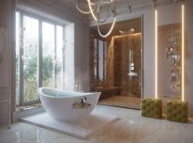 50 Luxury Bathrooms And Tips You Can Copy From Them images 34