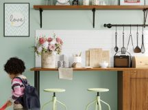 33 Gorgeous Green Kitchens And Ways To Accessorize Them images 9