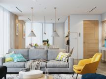 4 Bright & Cheerful Interiors That Use White & Wood To Good Effect images 28