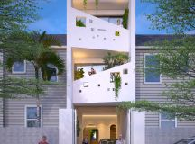 50 Narrow Lot Houses That Transform A Skinny Exterior Into Something Special images 4