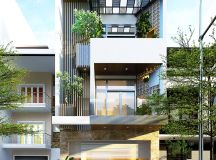 50 Narrow Lot Houses That Transform A Skinny Exterior Into Something Special images 10