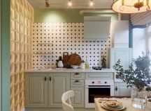 33 Gorgeous Green Kitchens And Ways To Accessorize Them images 26