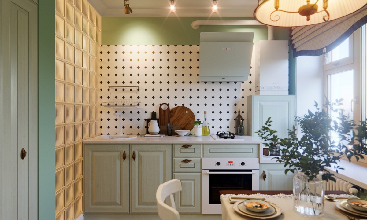 33 Gorgeous Green Kitchens And Ways To Accessorize Them