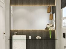 36 Modern Grey & White Bathrooms That Relax Mind Body & Soul images 7