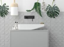 36 Modern Grey & White Bathrooms That Relax Mind Body & Soul images 13