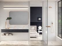 36 Modern Grey & White Bathrooms That Relax Mind Body & Soul images 30