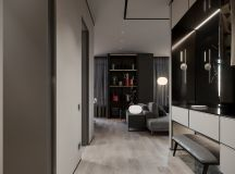 Grey Based Decor With Warming Accent Colours images 28