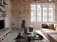 Four Types of Industrial Style Decor images 23