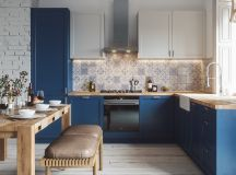 50 Lovely L-Shaped Kitchen Designs And Tips You Can Use From Them images 16