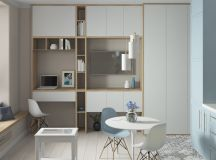 4 Small Space Apartments That Use Clever Ways To Maximize ...
