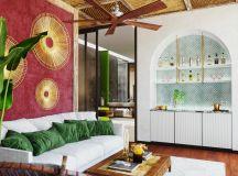 Two Nature Loving Boho Interiors images 11
