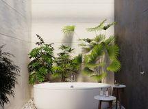 Two Nature Loving Boho Interiors images 31