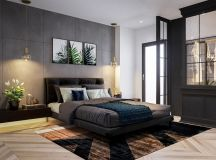 3 Open Plan Interiors With Glass Wall Bedrooms images 23