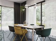 Black Decor With Colourful Accents images 5