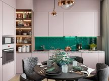 Scandinavian Style Interior Infused With Garden Greenery images 7