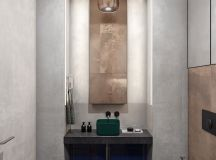 51 Industrial Style Bathrooms Plus Ideas & Accessories You Can Copy From Them images 45