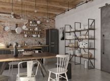 Four Types of Industrial Style Decor images 24