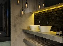 51 Industrial Style Bathrooms Plus Ideas & Accessories You Can Copy From Them images 33