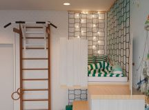 Scandinavian Style Interior Infused With Garden Greenery images 21