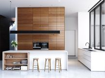 50 Stunning Modern Kitchen Island Designs images 26