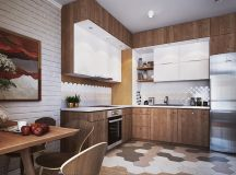 50 Lovely L-Shaped Kitchen Designs And Tips You Can Use From Them images 25