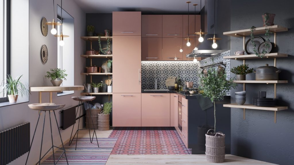 50 Lovely L Shaped Kitchen Designs Tips You Can Use From Them