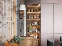 Scandinavian Style Interior Infused With Garden Greenery images 6